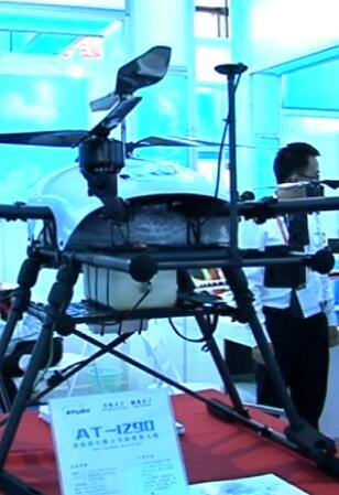 参展商故事:油电混合动力技术在无人机领域应用