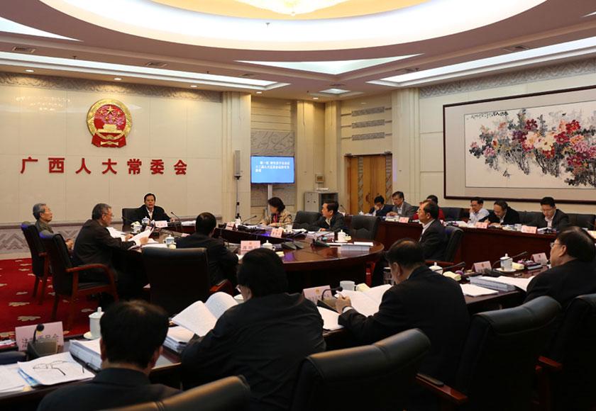 自治区十二届人大常委会第六十七次主任会议召开