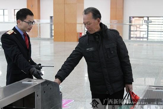 贵广高铁阳朔站今日开通 三地驴友不再受转车之苦