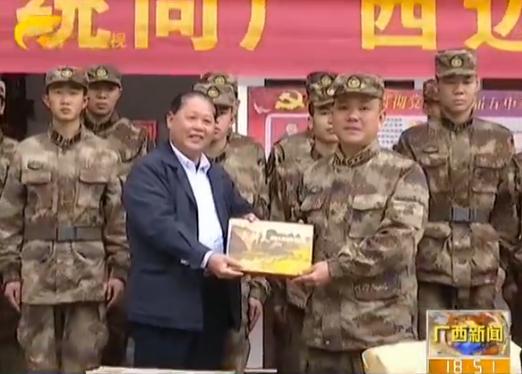 区新闻出版广电局开展书香军营活动
