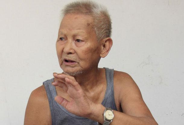 88岁游击队员唐泉讲抗战