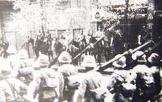 日军围攻 南宁沦陷