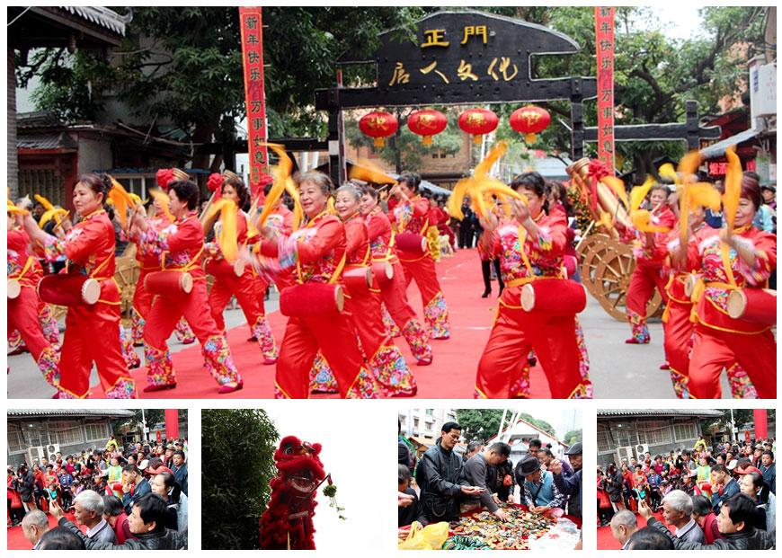 """[新春走基层]南宁唐人文化园开年 市民赶集""""淘宝"""""""