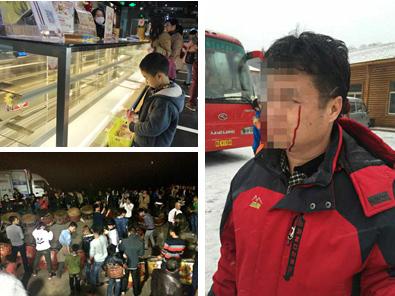 2月17日焦点图:南宁31家蒂丽雪斯门店遭抢购