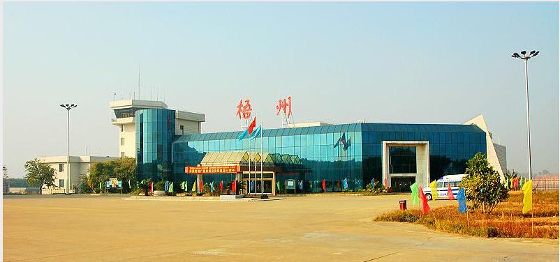 梧州长洲岛机场原归梧州市人民政府管理,2007年划归广西机场管理集团