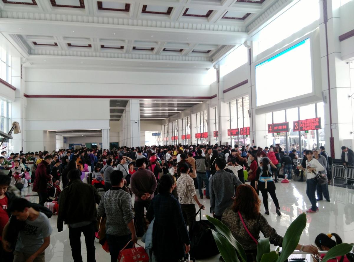 春运以来,上林县客运无大面积滞留