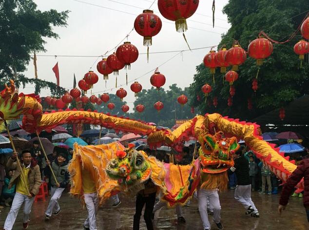 高清:第五届下俚文化艺术节举行 传统民俗闹元宵