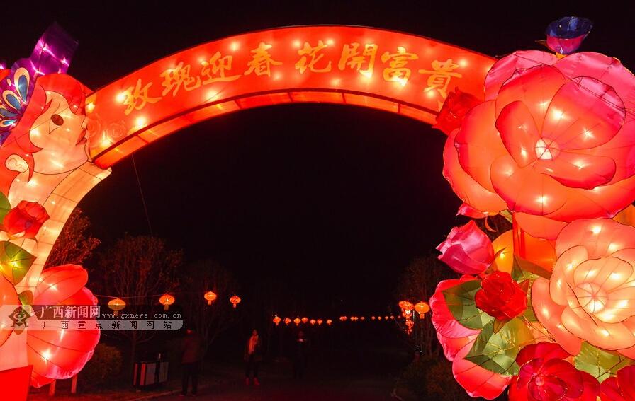南宁:首届美丽南方花灯文化艺术节2月1日举办(图)