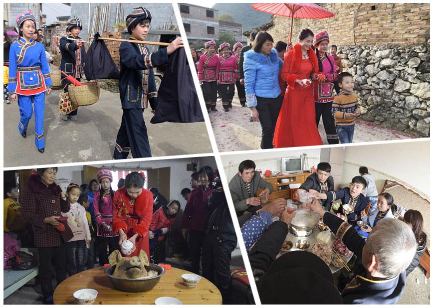 高清:罗城举行仫佬族传统婚礼