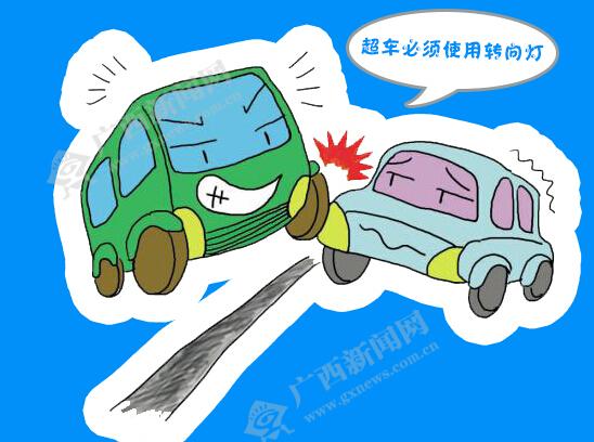 """[新桂漫画]羊年春节""""羊羊得意"""" 驾车出游可别大意"""