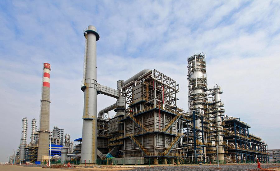 中石化北海炼油厂。刘毅坚 摄