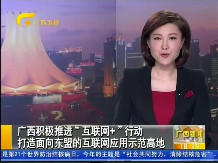 """广西积极推进""""互联网+""""行动 打造面向东盟的互联网应用示范高地"""