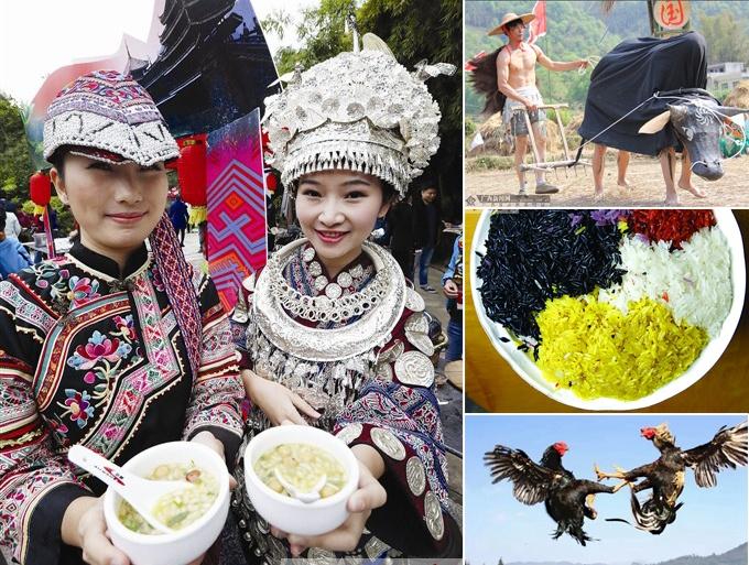高清:玩high了!盘点广西少数民族传统节日