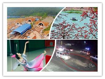 3月31日焦点图:柳南高速四车道将改八车道