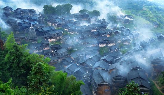三江大侗寨景区图片