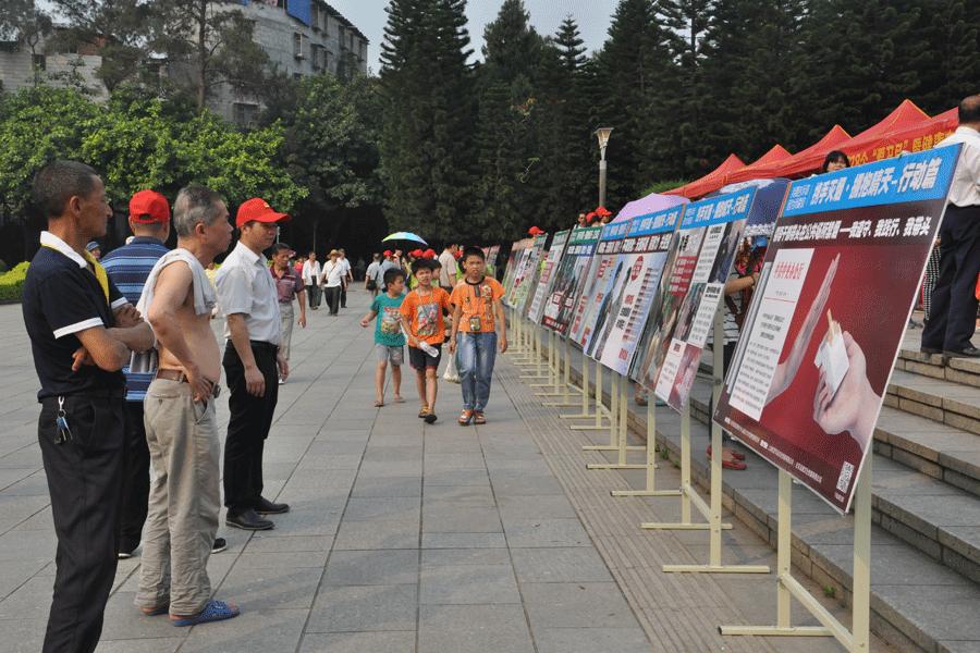 广西启动第28个爱国卫生月暨2016年健康中国行主题宣传活动