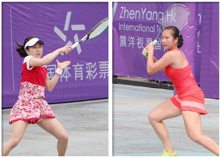 广西小花袁程依依憾负日本选手止步ITF南宁赛首轮