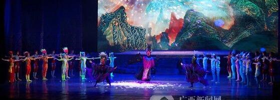 广西首部壮族魔幻杂技剧《百鸟衣》震撼上演