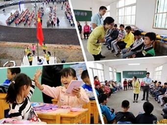 高清:柳州融安受岩崩灾害学校学生全面复课