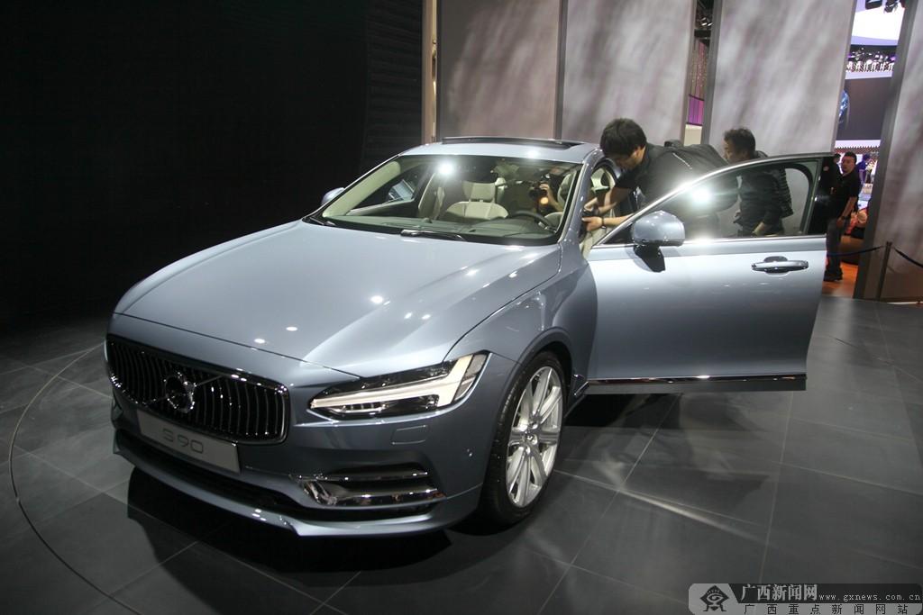 北京车展:沃尔沃S90将搭载最新自动驾驶科技(图)