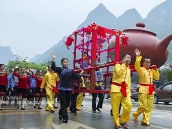 高清:见证凌云的壮族群众传统特色婚俗
