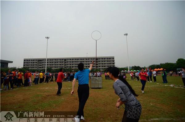 【迎60校庆】民族体育日欢乐多 教师展现不样精彩