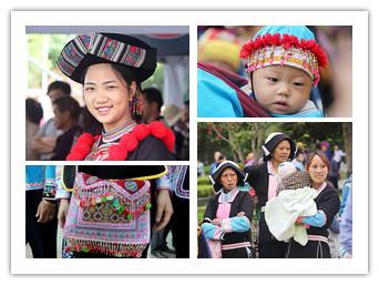 广西各民族服饰是一道特别的风景线