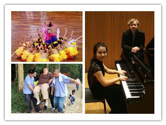 5月9日焦点图:柳籍钢琴家登台肯尼迪艺术中心