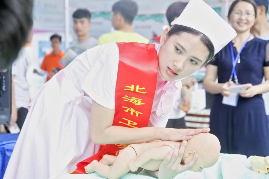 高清:2016广西职教活动周 9大主题技术技能展演