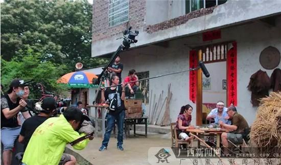 电视剧《股份农民》深入钟山拍摄 引村民好奇