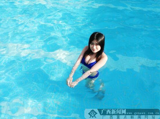 酷爽来袭!钦江丽景泳池盛大开放!