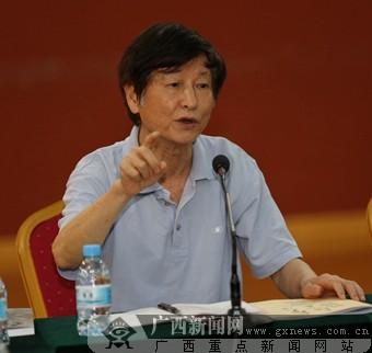 何明百梅咏春画展暨学术研讨会在南宁举行(组图)
