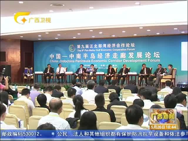 """携手泛北合作 共建""""一带一路"""" 中国-中南半岛经济走廊发展论坛举行"""