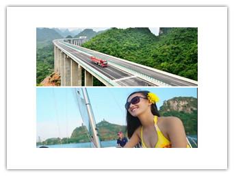 5月31日焦点图:崇靖高速公路通车 成黄金旅游通道