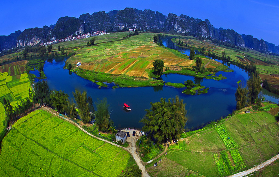 【绿色广西】壮乡仙境谱华章 ――上林篇