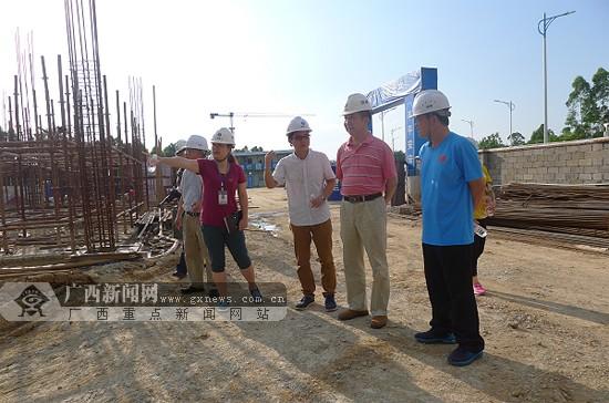 贺州市首个恒温游泳馆建设进展顺利 预计10月竣工