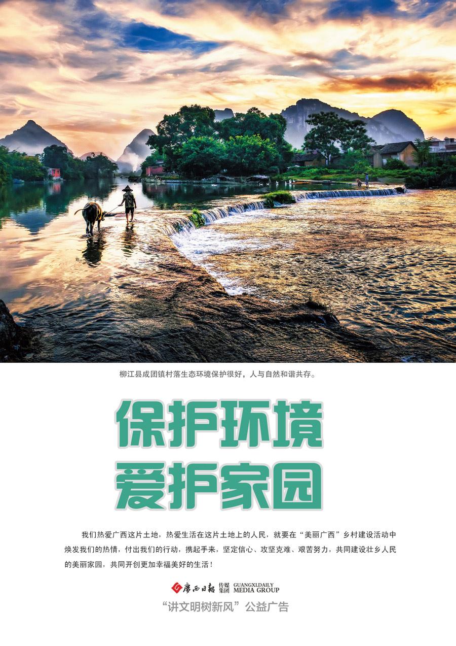 生态乡村公益广告―溪水牧牛篇