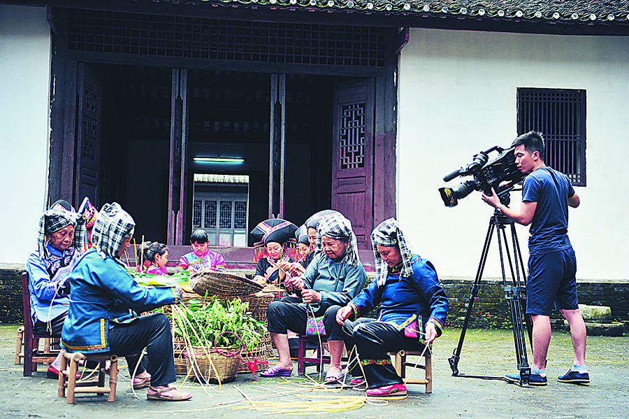 高清:央视现场直播忻城端午节系列民族文化活动