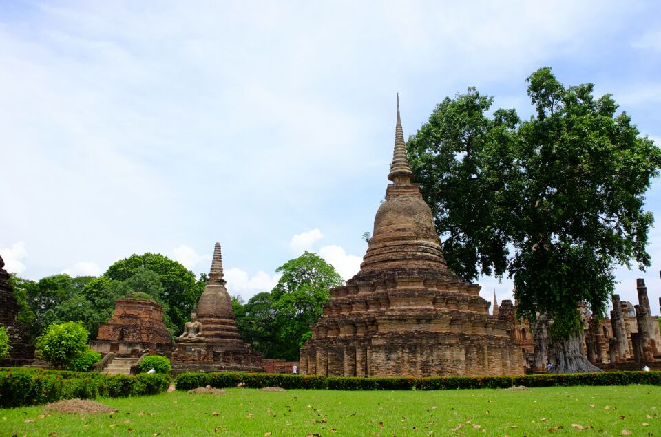 泰国素可泰遗址:探寻王朝之都的历史足迹(组图)