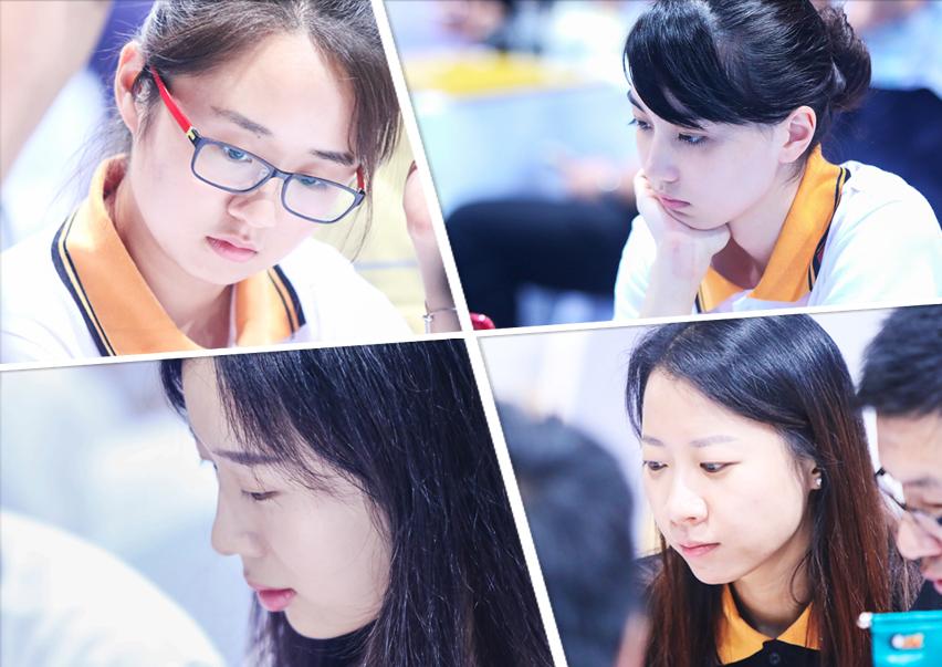 城围联美女棋手多 观众:明明可靠颜值偏要靠智商