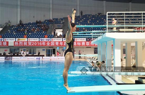 全国青年跳水锦标赛:广西小将女子双人三米板摘银
