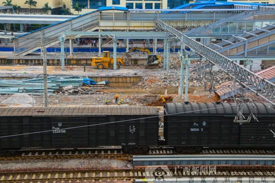 """柳州火车站扩能改造""""大变身"""" 有望2018年建成(图)"""