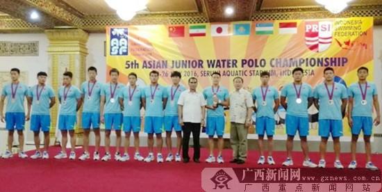 亚洲青年水球锦标赛:广西小将助中国队斩获两银