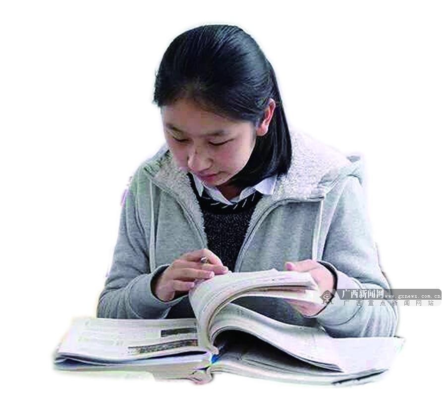 """让优秀成为习惯 广西高考""""学霸""""不止于高分(组图)"""