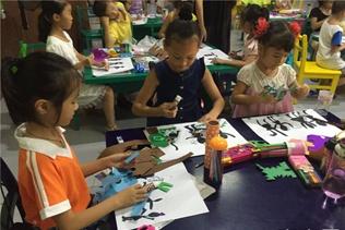 广西来宾开展暑期公益课堂活动