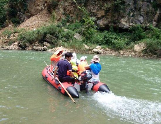 布柳河景区定于今年公休假日开漂