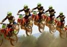 广西摩托车越野赛平乐站拉开序幕