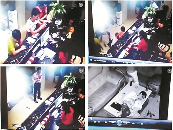 3男无身份证欲住酒店被拒 疯狂打砸重伤保安