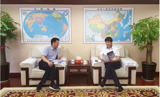 泛华企业集团汪春林一行拜访广西保监局