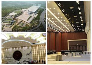 南宁会展中心部分新场馆验收 将在东博会投入使用
